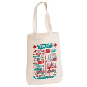 Toronto Illustrated Tote Bag