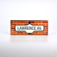 Load image into Gallery viewer, Copper-Framed Street Name Magnets