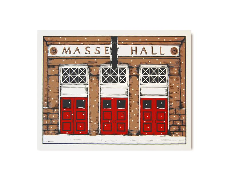 Massey Hall Christmas Card