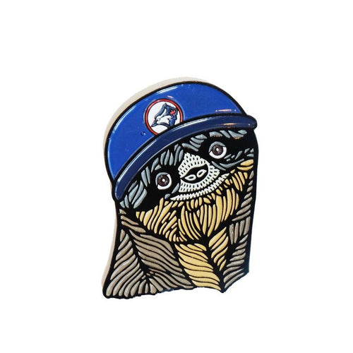 Blue Jays Sloth Enamel Pin