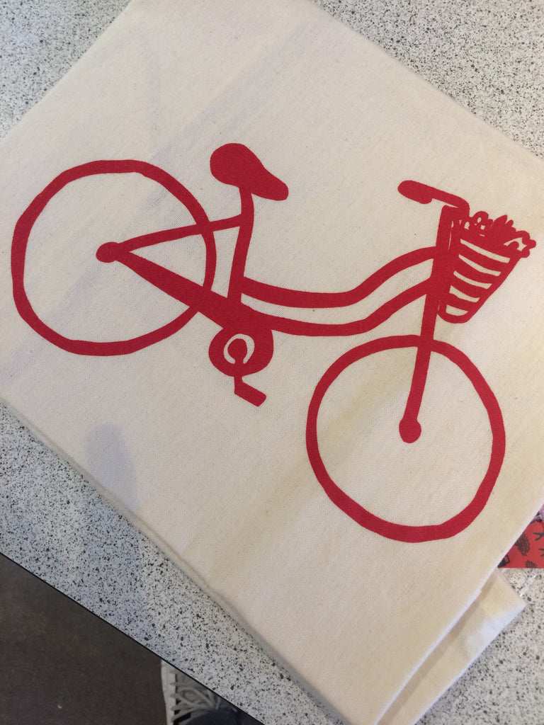Bike Tea Towels