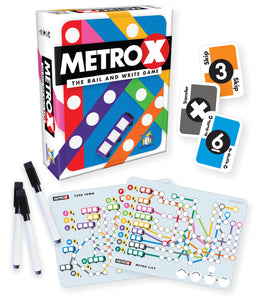 Metro X: The Rail and Write Game
