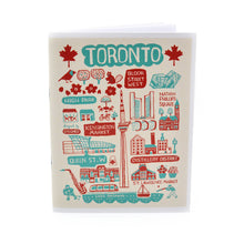 Load image into Gallery viewer, Toronto Illustrated Notebook