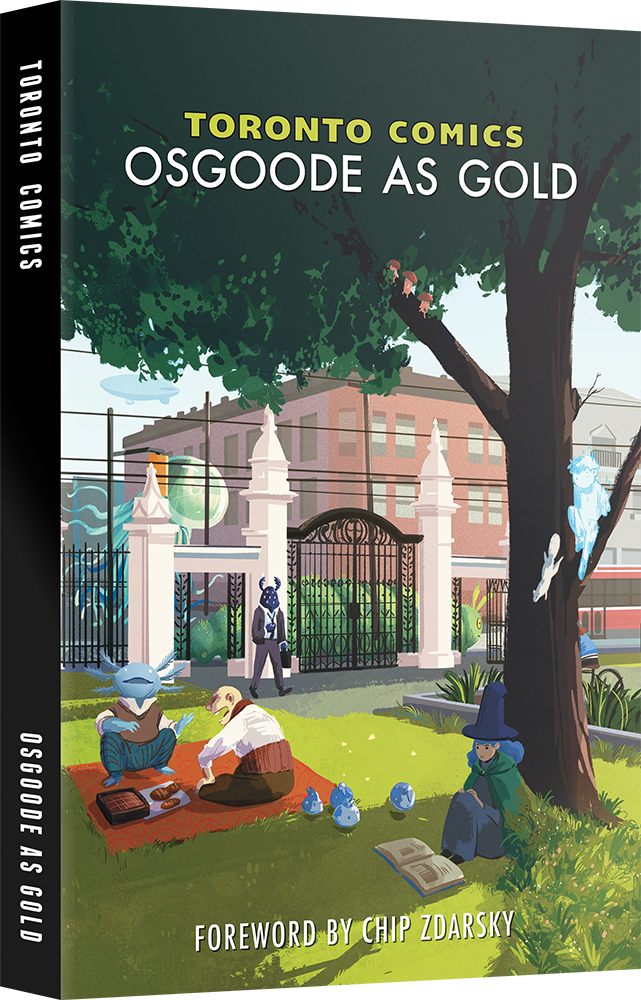 Toronto Comics: Osgoode As Gold