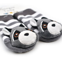 Load image into Gallery viewer, Raccoon Baby Socks