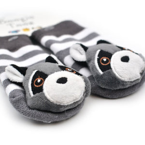 Raccoon Baby Socks