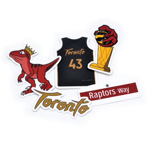 Raptors Stickers