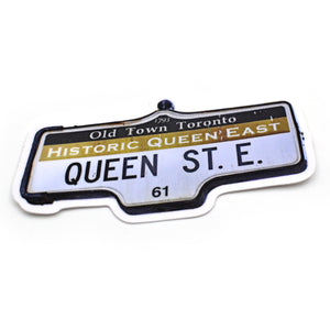 Toronto Street Sign stickers
