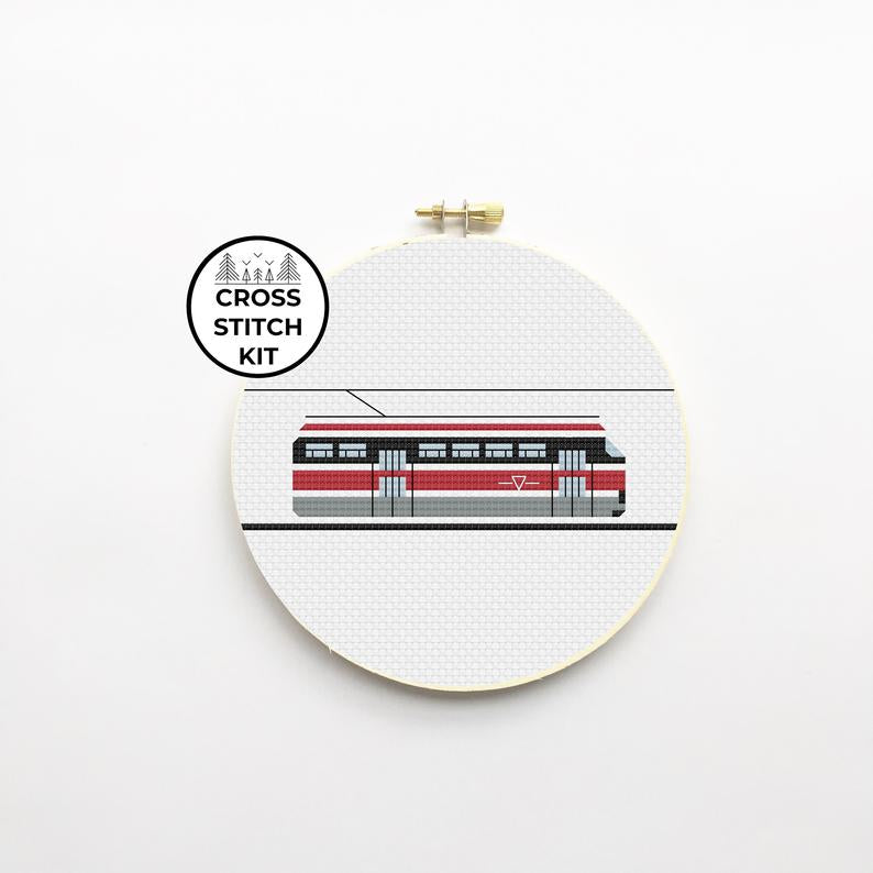 Streetcar Cross Stitch Kit