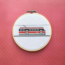 Load image into Gallery viewer, Streetcar Cross Stitch Kit