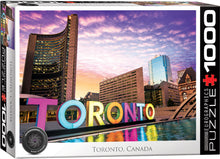 Load image into Gallery viewer, Toronto Sign Jigsaw Puzzle