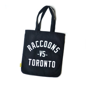 Raccoons VS Toronto Tote Bag