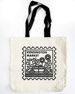 Kensington Market Neighbourhood Stamp Tote Bag
