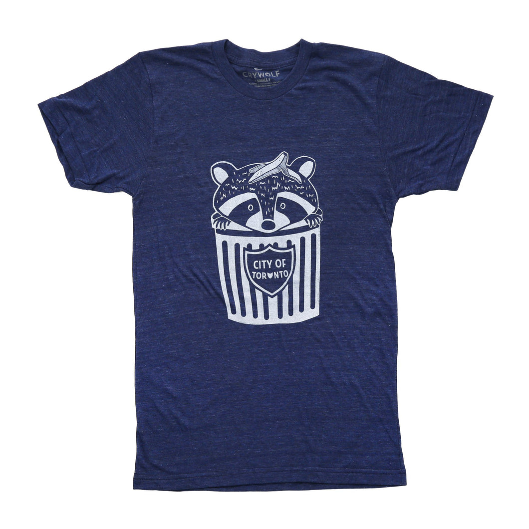 Trash Can Raccoon T-shirt
