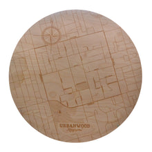 Load image into Gallery viewer, Kensington Wooden Wall Map