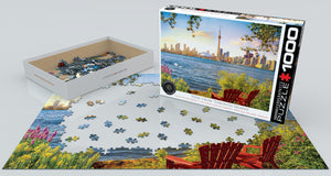 View From Toronto Island Jigsaw Puzzle