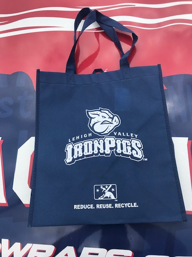 Lehigh Valley IronPigs Reusable Bag