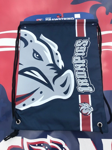 Lehigh Valley IronPigs Drawstring Bag