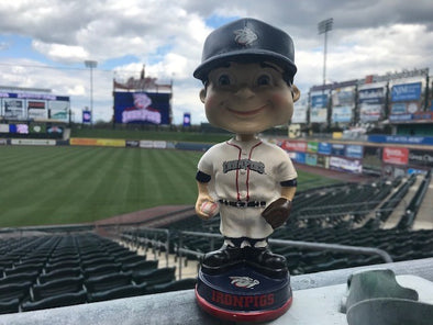 Lehigh Valley IronPigs Retro Bobblehead