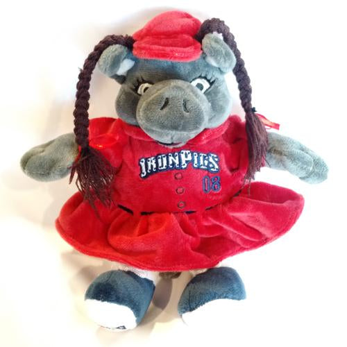 Lehigh Valley IronPigs FeFe Plush Doll
