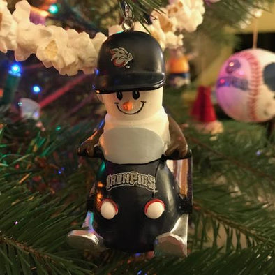 Lehigh Valley IronPigs Snowmobile Ornament