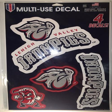 Lehigh Valley IronPigs Decal Sheet
