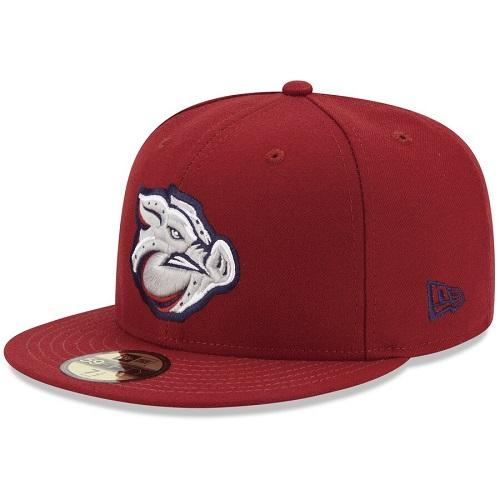 Lehigh Valley IronPigs Official 5950 On Field Road Cap