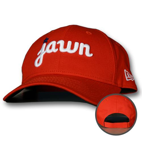 New Era 940 Jawn Red Adjustable Cap