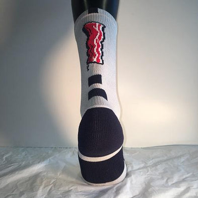 Lehigh Valley IronPigs Bacon Stripe Performance Socks