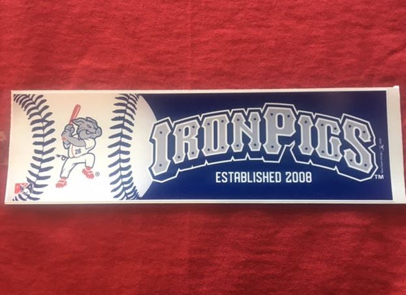 IronPigs Bumper Sticker