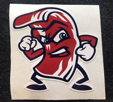 Fighting Bacon Sticker