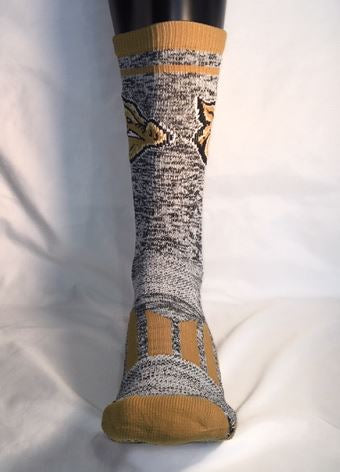 Gold Standard Heathered Socks