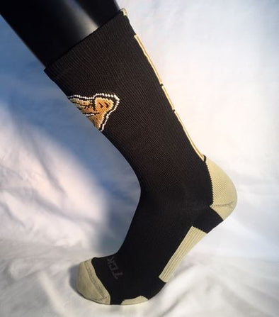 Gold Standard Black/Gold Socks