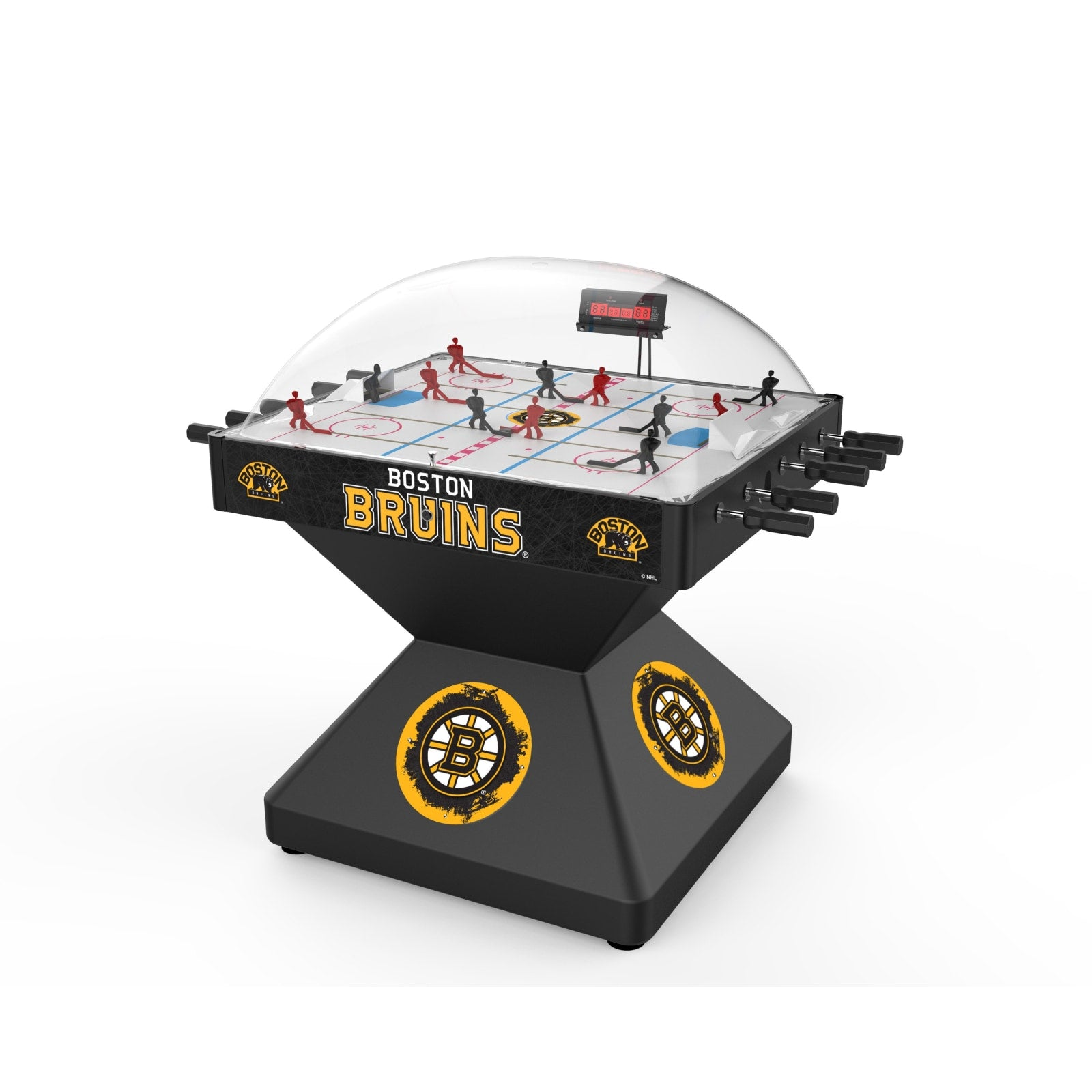 Boston Bruins Dome Hockey Deluxe Edition Game by the Holland Bar Stool Co