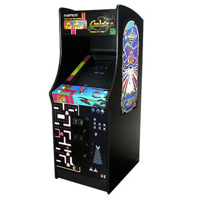 Ms. Pac-Man & Galaga - Class of 1981 Edition - Upright Arcade machine 6 in 1 - Arcade Machine - Chicago Gaming Company - 9600