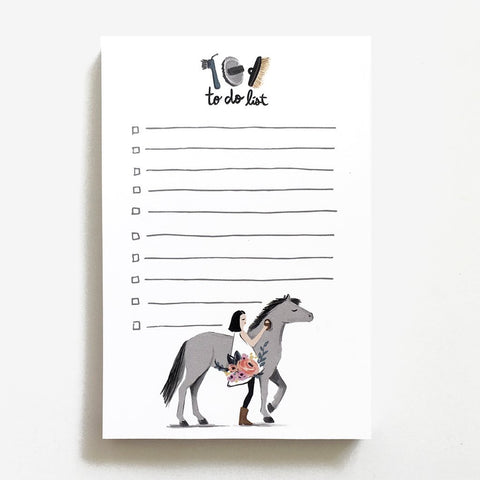 Pretty Pony Notepad