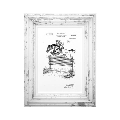 Oxer Patent Print