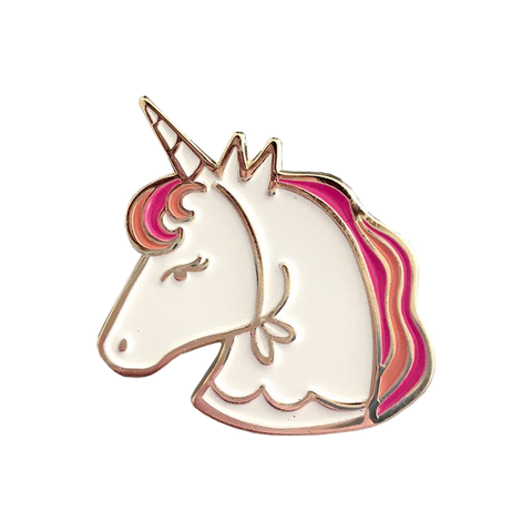 Life of the Party Unicorn Enamel Pin