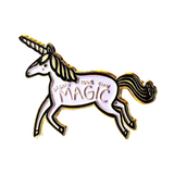 "Unicorn ""Create Your Own Magic"" Enamel Pin"