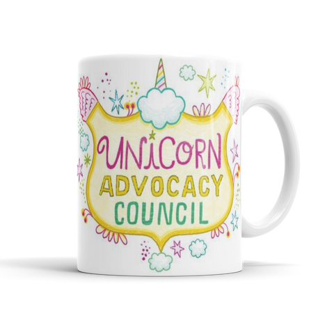 Unicorn Advocacy Council Mug