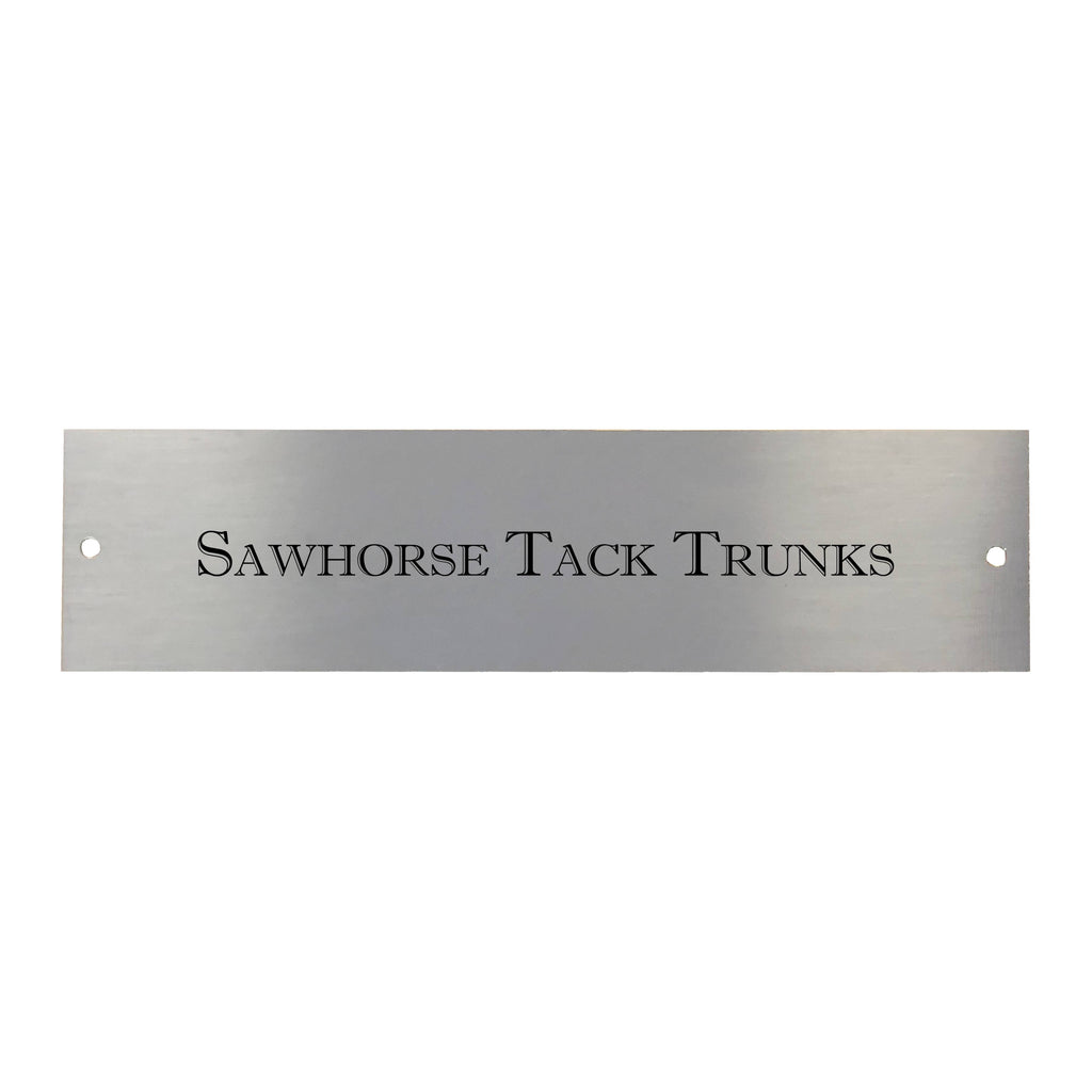 Engraved Trunk Nameplate