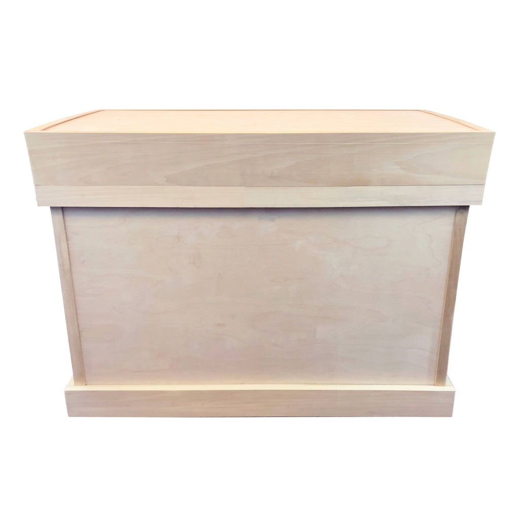 Unfinished Bandage Lid Tack Trunk