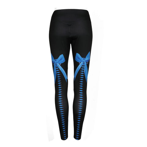 Women's Yoga Workout  Elastic Leggings