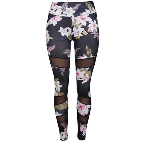 Printed Women Fitness Sport Yoga Pants