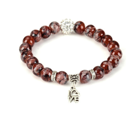 Love Bead Yoga Bracelet