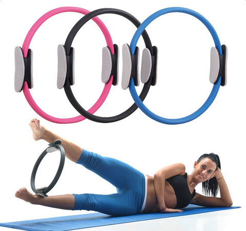 Purple Pilates Circle Yoga Circle Yoga Ring /Fitness Shaping Breast Ring