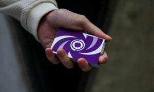 Mauve Ventus Playing Cards