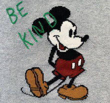 Load image into Gallery viewer, Hand embroidered Mickey Mouse Sweater