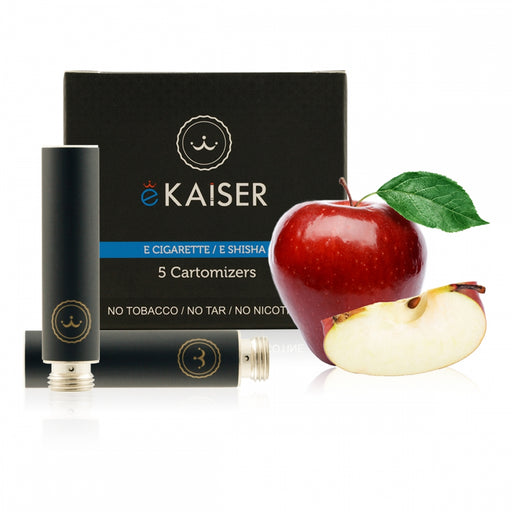 Cigarette Cartomizers,5 Pack,Apple,eKaiser