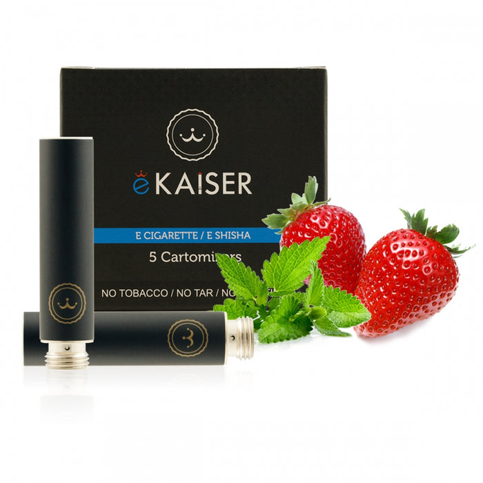Cigarette Cartomizers,5 Pack, Strawberry Mint Mix,eKaiser